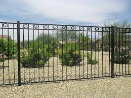 Wrought Iron Fence Without Finial For Fence Railing Gate