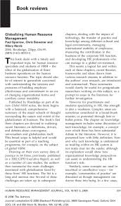 Globalizing Human Resource Management – Paul Sparrow, Chris ...