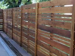 Custom Horizontal Western Red Cedar Modern Landscape Denver By All Access Fence Wood Vinyl Ornamental Iron