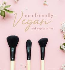 7 vegan and eco friendly makeup brushes