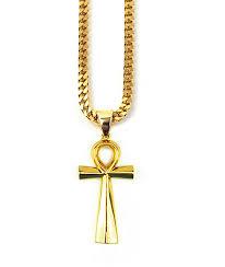 the gold s ankh cross pendant 28