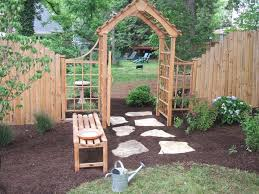 how to build a trellis arbor and gate