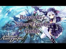 Berserker Silver Trophy Guide Fairy Fencer F Advent Dark Force English Full Hd Youtube