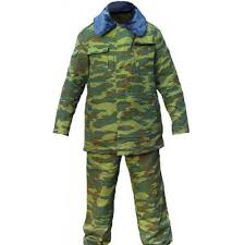 russian army winter flora camo uniform