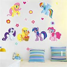 Removable My Little Pony Wall Decal Wall Sticker Kids Room Home Decor Usa Seller Ebay