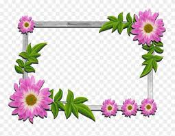 psd flower frames free clipart