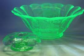 vintage glassware pressed pattern