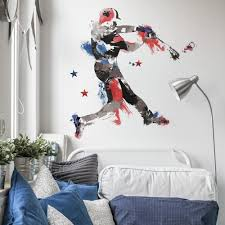 Men S Baseball Champion Giant Wall Decals Roommates Decor