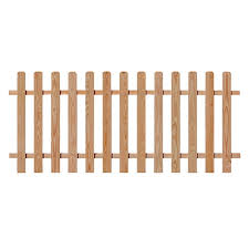 Spaced Picket Fence Panels Outdoor Essentials