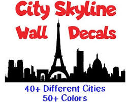 London Wall Decal Etsy