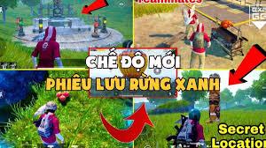 Chế độ mới 'Jungle Adventure' sắp xuất hiện trong PUBG Mobile