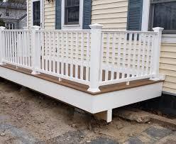 backyard deck installation in ny ct