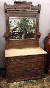 antique eastlake dresser w marble top