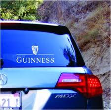 Guinness Beer Vinyl Decal Sticker Texas Die Cuts