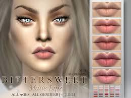 bittersweet matte lipstick 30 colors