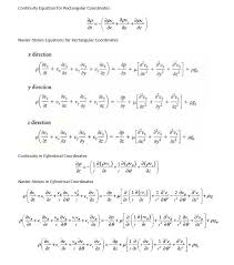 proof of navier stokes equation in