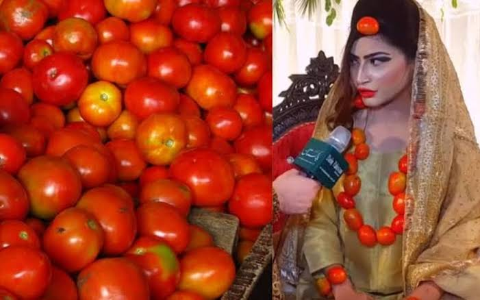 Image result for pakistan tomato bride jewellery""