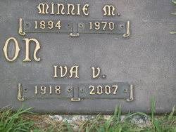 Iva V. Anderson Robinson (1918-2007) - Find A Grave Memorial