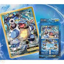 Pokemon Cards Game XY BREAK Special Jumbo Base Pack Mega Blastoise  EX/Korean Ver