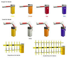 Classification And Installation Method Of Road Boom Barrier Gates Knowledge Shenzhen Anxia Heavy Industries Co Ltd
