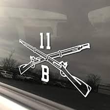 Amazon Com Army Infantry Window Strip Decal Sticker Automotive