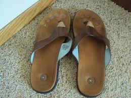 juil sandals size 12 brown leather