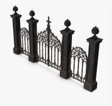 Cemetery Gates Png Free Download Cemetery Gate Vector Png Free Transparent Clipart Clipartkey