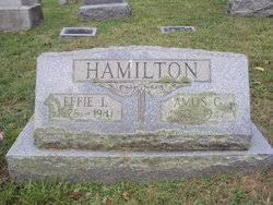 Effie Lee Hamilton (Mason) (1878 - 1941) - Genealogy