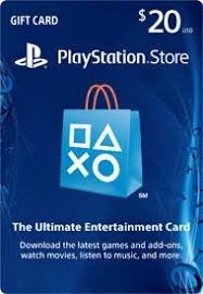 playstation gift card 20