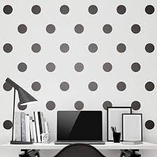 Amazon Com Black Wall Decal Dots Easy Peel Stick Safe On Walls Paint 200 Decals Removable Matte Vinyl Polka Dot Decor Round Circle Art Glitter Sayings Sticker Large Paper Sheet Set