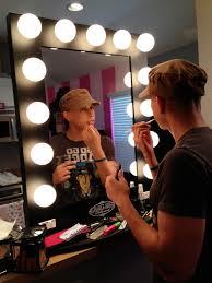 broadway lighted makeup mirror