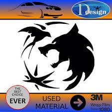 The Witcher Sticker Vinyl Car Laptop 8 1 X 7 9 Ebay