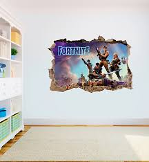 Fortnite Wall Art Sticker Game High Quality Bedroom Decal Print Boys Girls Ebay