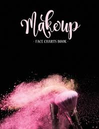 makeup face charts book the blank