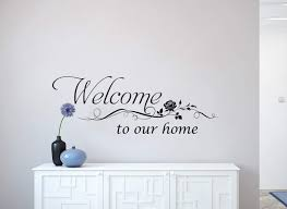 Welcome Wall Art Decal Wall Art Decal Sticker