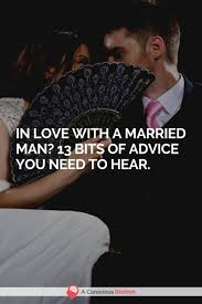 in love a married man truths you need to hear