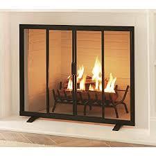 modern fireplace screens com