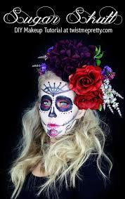 sugar skull makeup tutorial for