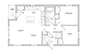 2 bedroom 1 bathroom house plan