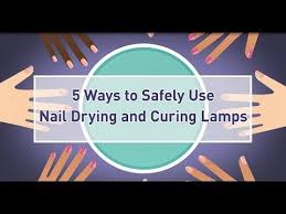 use nail drying and curing ls