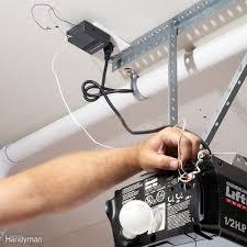 garage door opener repair and