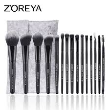 zoreya makeup brushes professional