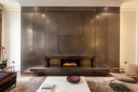 feature wall fireplace luxurious