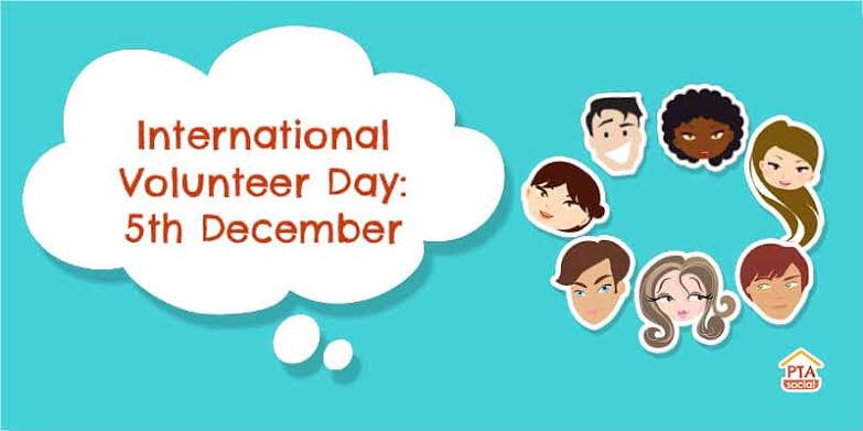 """Image result for international volunteer day 2019"""""""