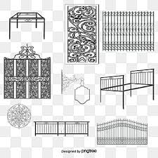 Iron Fence Png Vector Psd And Clipart With Transparent Background For Free Download Pngtree