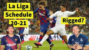 Is the NEW La Liga SCHEDULE fixed? - YouTube