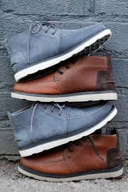 toms brown leather or grey