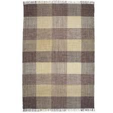 beige oxford cotton rug temple webster