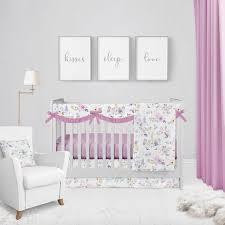 pink twilight unicorn crib bedding set
