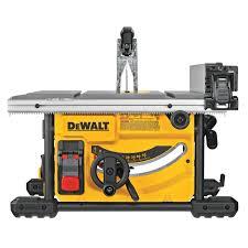 8 1 4 In Compact Jobsite Table Saw Dwe7485 Dewalt